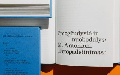 """Nerijaus Mileriaus monografija """"Žiūrėti į žiūrintįjį"""""""